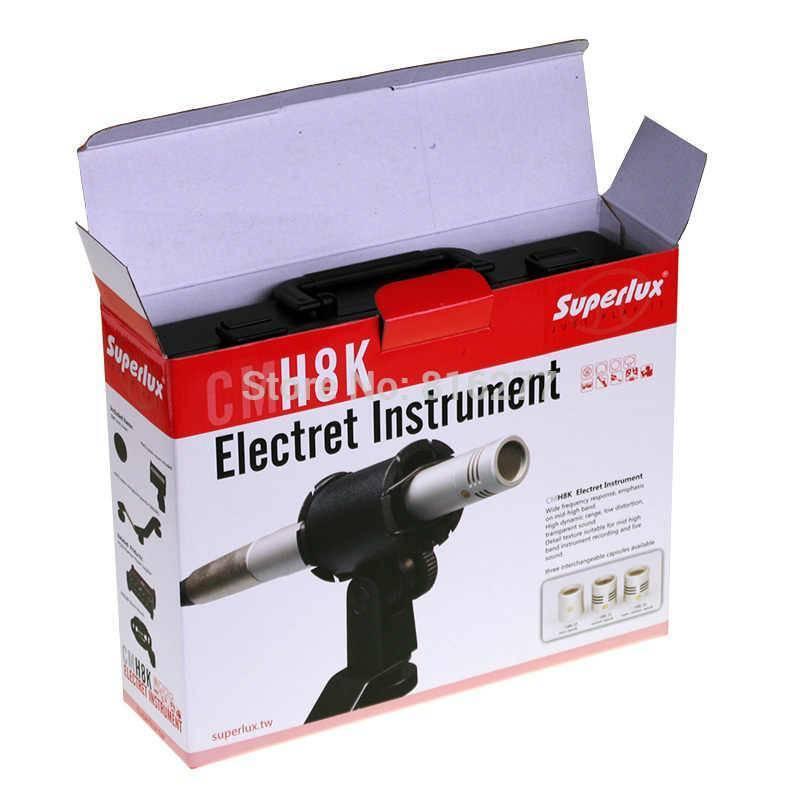 Microfono Para Instrumento De Condensador Gold CM-H8KH