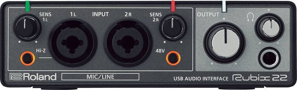 Interfase Profesional Roland Rubix 22