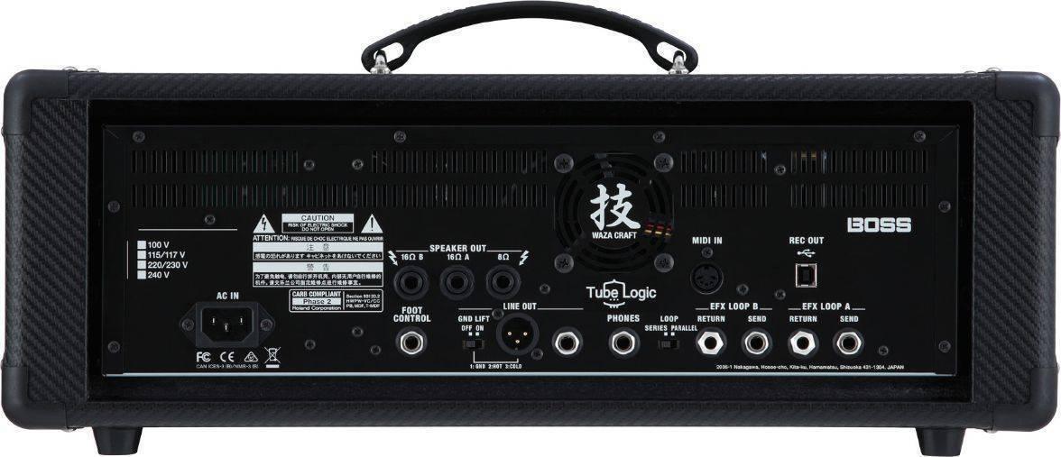 Amplificador Cabezal Boss  Waza Craft HD75 Watts