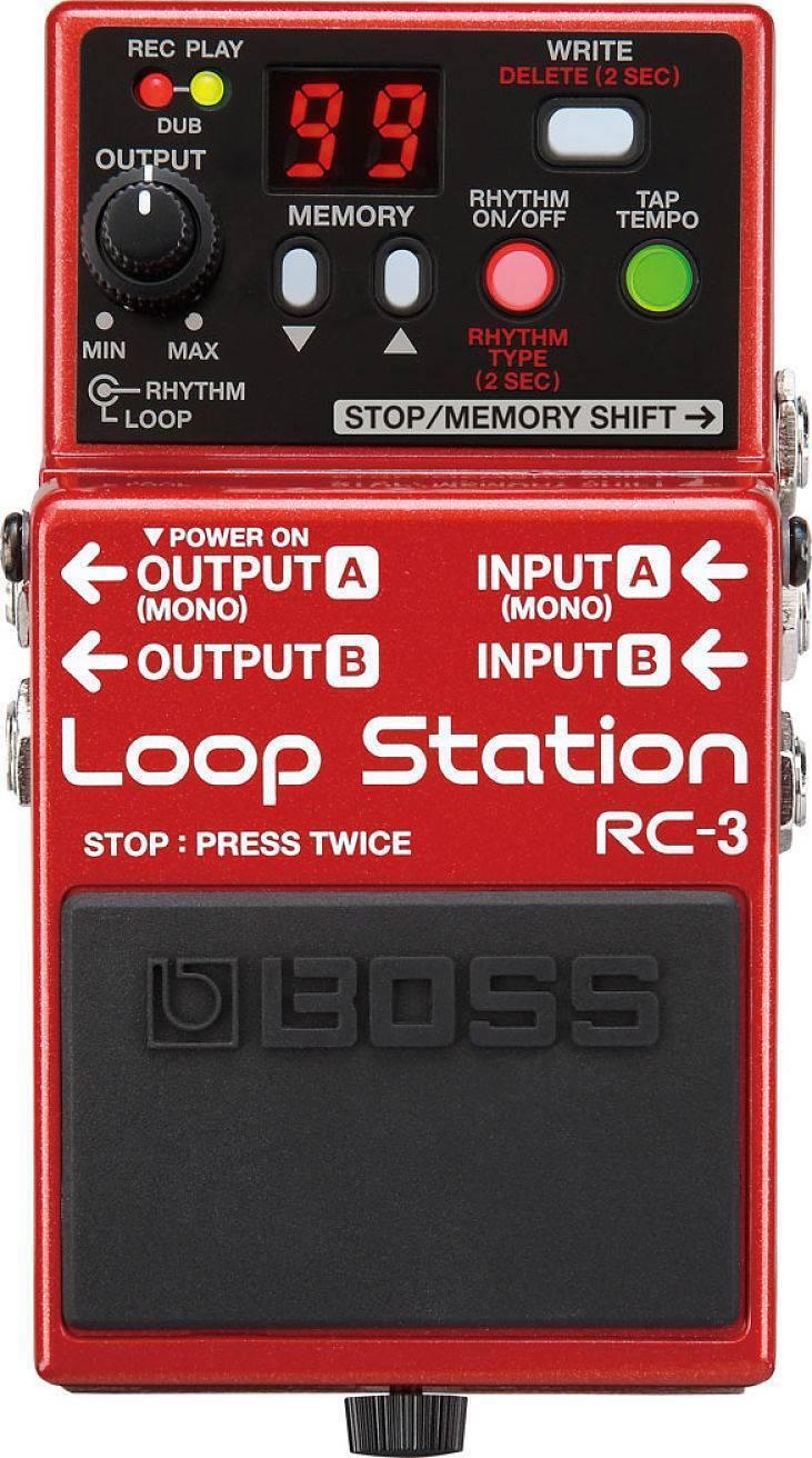Pedal De Efecto Loop Station Boss RC-3