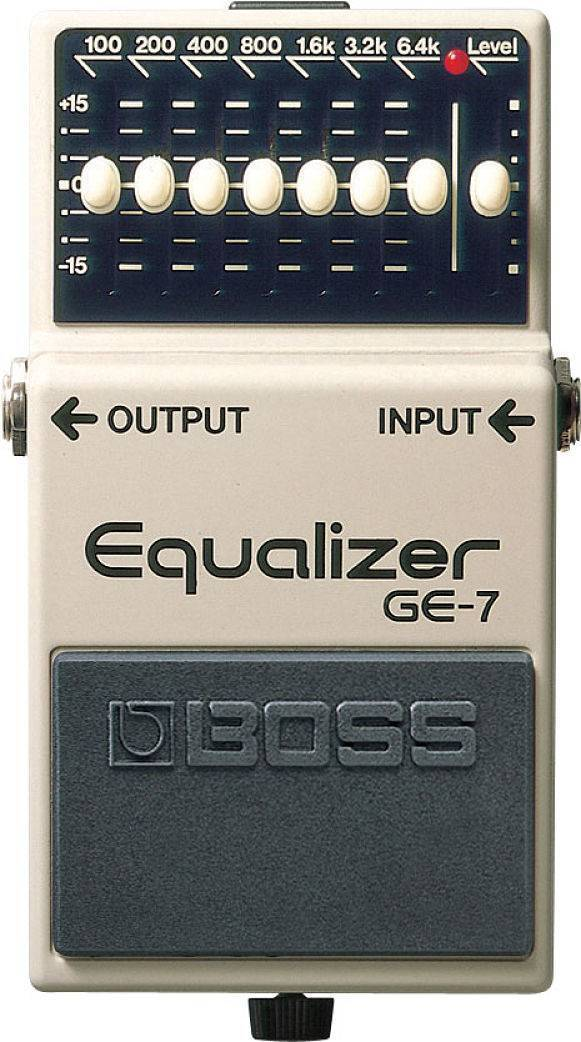 Pedal De Efecto Equalizador 7 Bandas GE-7
