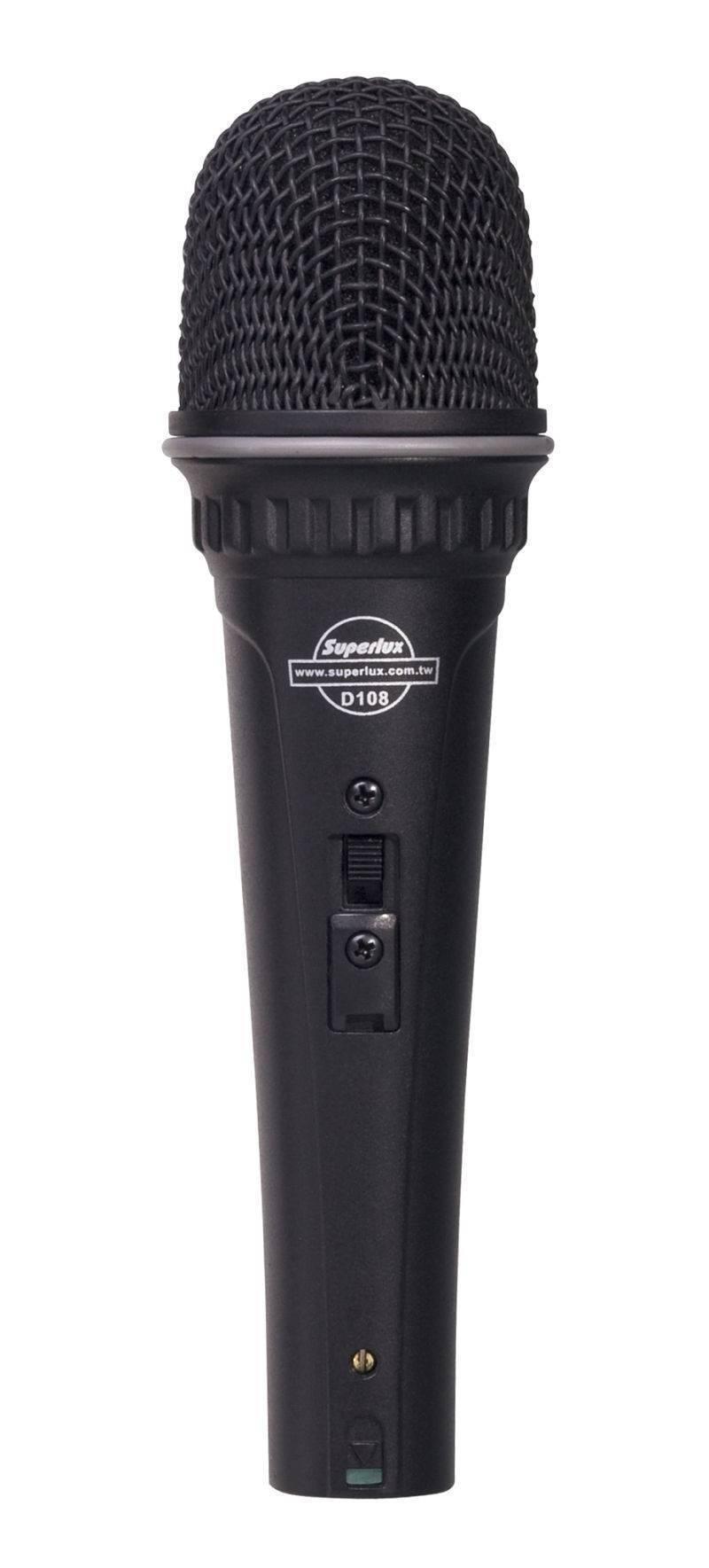 Microfono Dinamico Supercardioide P/ Voz D108A