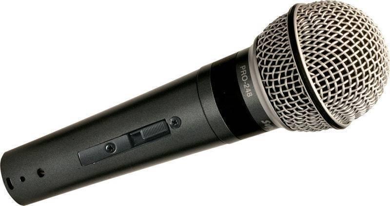 Microfono Para Voz Dinamico C/SW Superlux