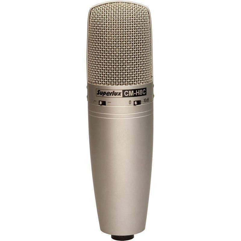 Microfono De Condensador Champange Gold de 3 Patrones  CM-H8C