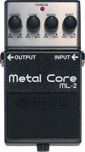 Pedal Boss De Efectos ML-2 Metal Core