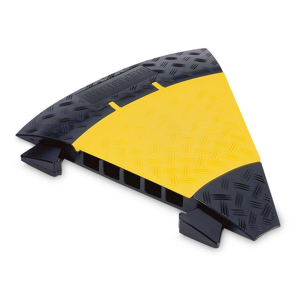 Cubre Cables Yellow Jacket 85310 Defender Curva 45 Grados