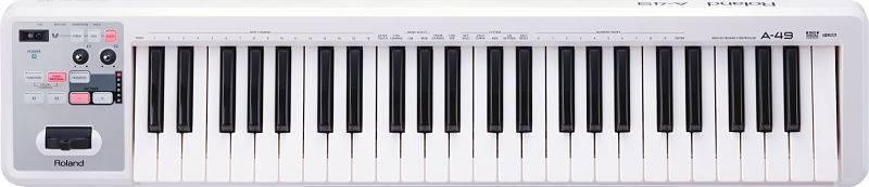 Controlador Roland A-49 MIDI y USB Color Blanco