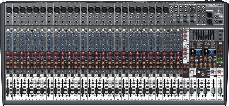 Mezcladora 32 canales Behringer SX3242FX