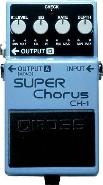 Pedal De Efectos Boss Super Chorus
