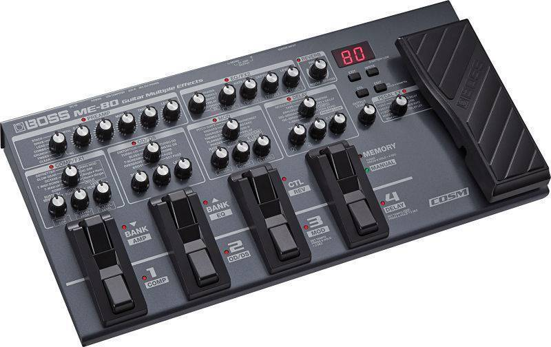 Pedalera Boss ME-80 Multi efectos para Guitarra