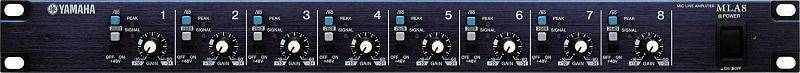 Pre Amplificador Yamaha  MLA8