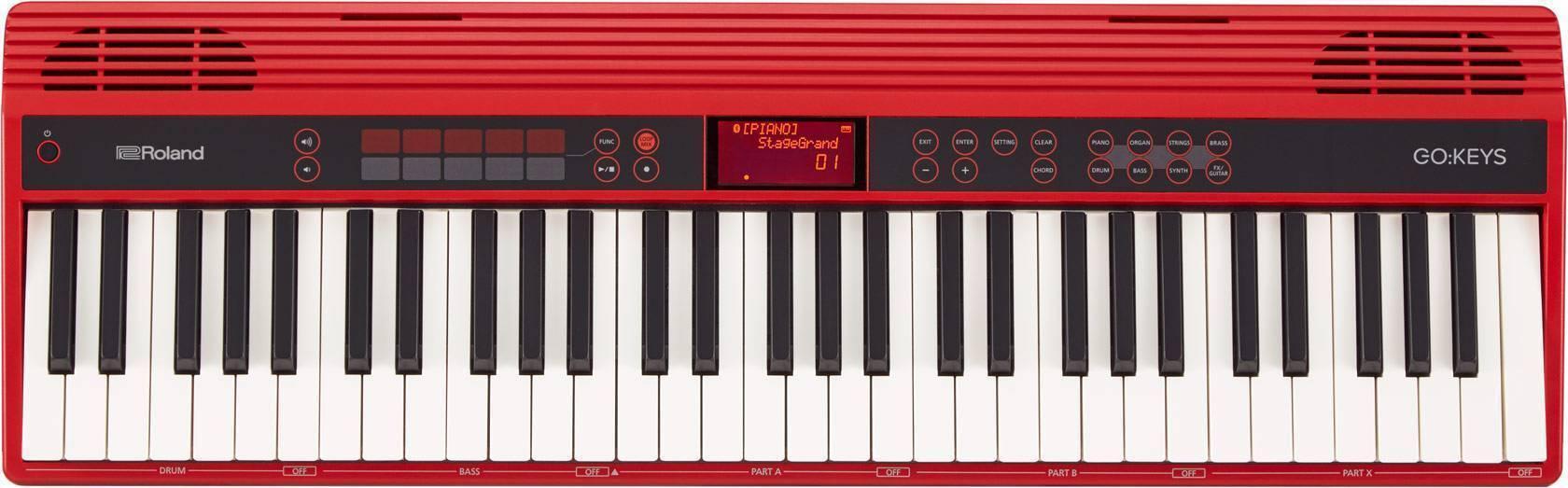 Teclado Roland Go keys de 61 teclas