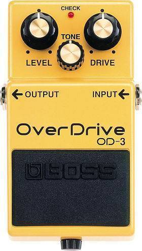 """Pedal Boss OD-3 """"Over Drive"""""""