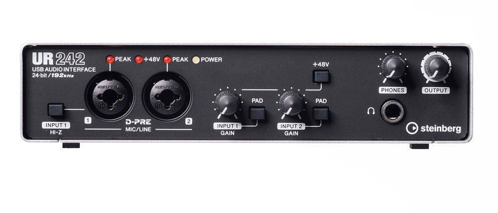 Interface de audio USB Steinberg UR242 2in x2out