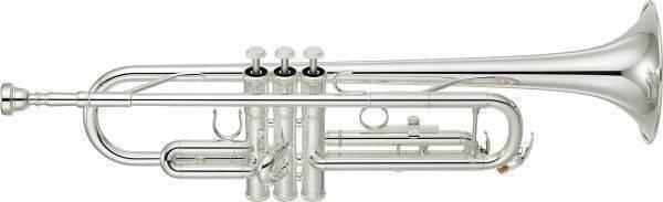 Trompeta Yamaha YTR-3335 Semi-Profesional en Bb (Plateada)