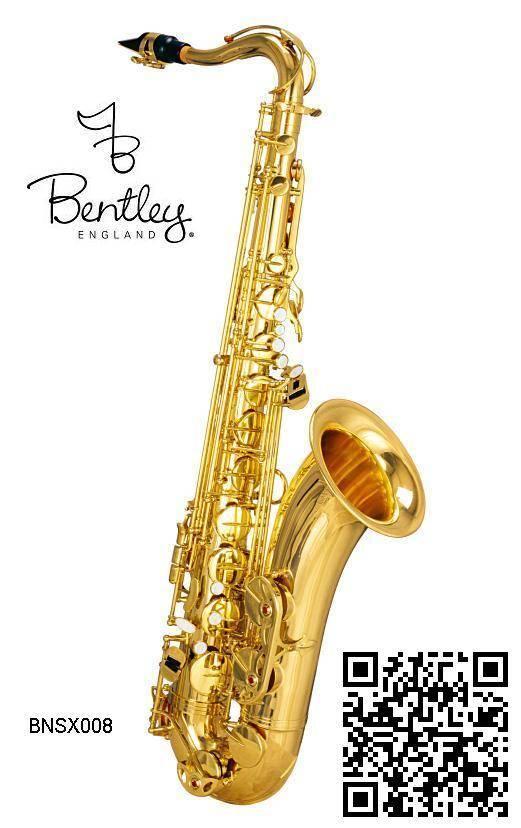 Saxofon Tenor Bb Laqueado Bentley