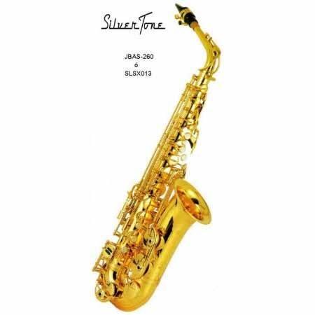 Saxofon Alto Eb Y-62 Dorado Silvertone