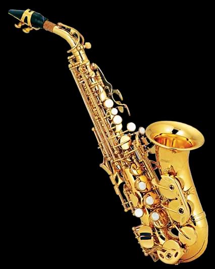 Saxofon Soprano Curvo Bb Dorado C-310L Century