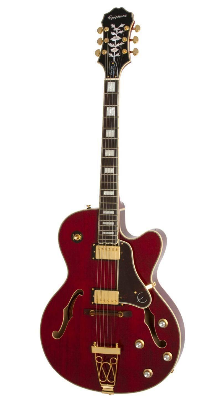 Guitarra Epiphone Joe Pass Emperor-II PRO Wine Red