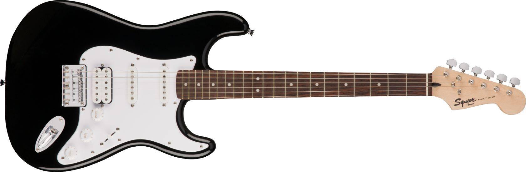 Guitarra Electrica Fender Squier Bullet Strat Ht Hss Negra