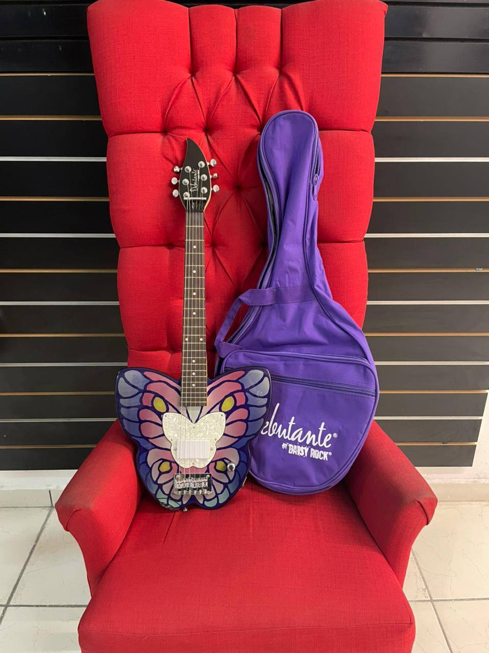 Guitarra Eléctrica Daisy Rock Mariposa