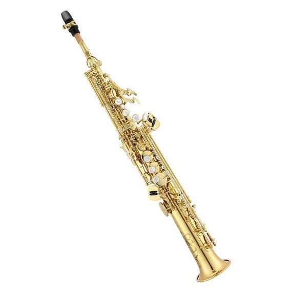 Saxofon Soprano Si Bemol Jupiter Laqueado