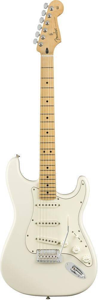 Guitarra Fender Stratocaster Blanca Polar