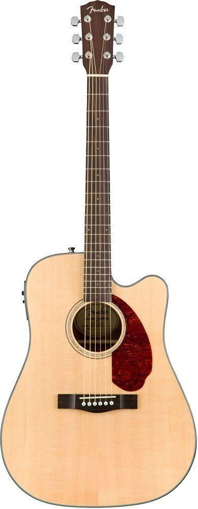 Guit. Eacust. Fender Cd-140sce Natural Cutway