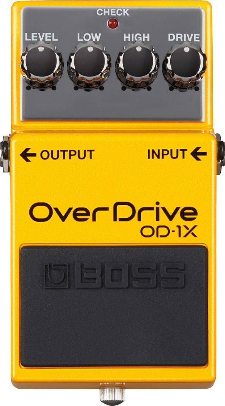 Pedal Boss OD-1X Overdrive