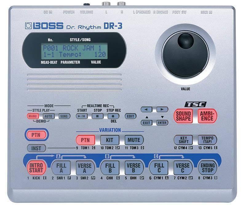Camara de ritmo Boss DR-3