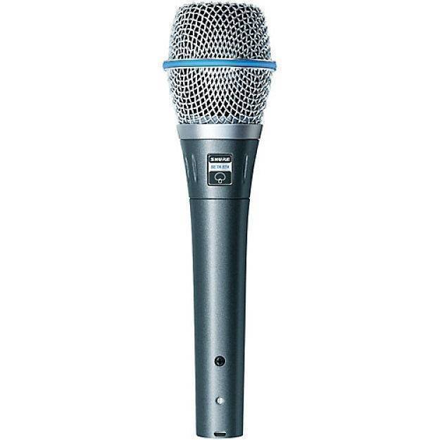 Microfono Condensador Shure Beta 87
