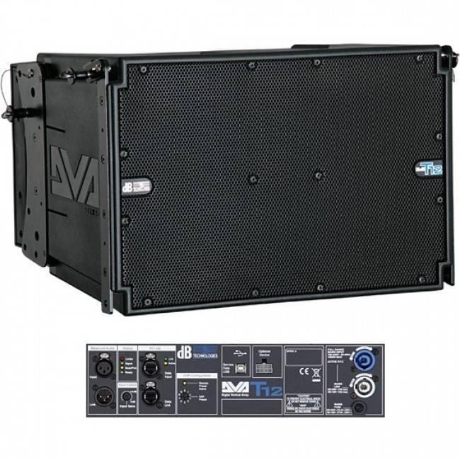Bafle amplificado arreglo lineal DVA-T12