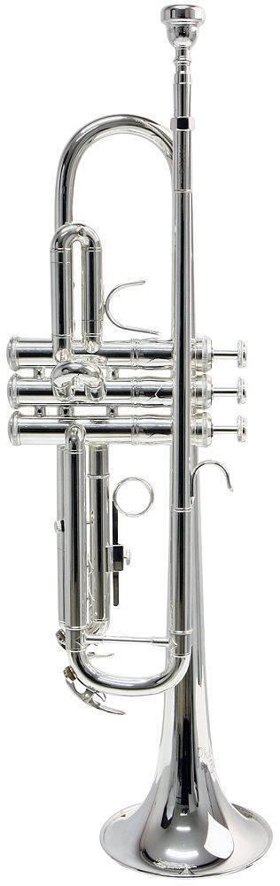 Trompeta  TR650S Vincent Bach Plateada