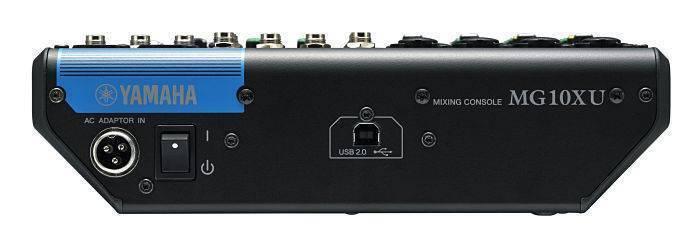 Mezcladora Yamaha MG10XU de 10 Canales y USB