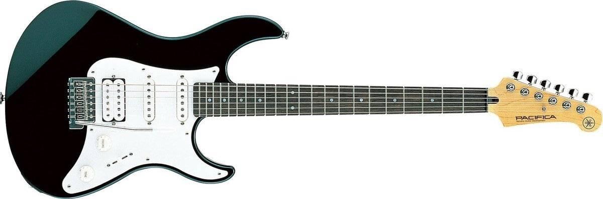 Guitarra Yamaha Pacifica Negra diapasón de palo de rosa