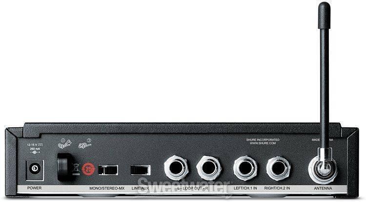 Transmisor Inalámbrico de Monitoreo Shure PSM300 P3T