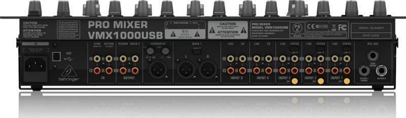 Mezcladora Behringer DJ VMX1000USB