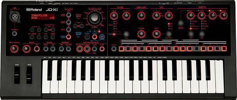 Sintetizador Roland JD-Xi  Analogo/Digital Hibrido