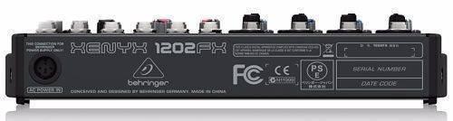 Mezcladora Behringer 1202FX 12 canales
