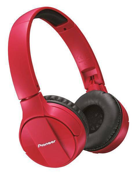 Audifonos inalambricos Pioneer SE-MJ553BT-R Rojos
