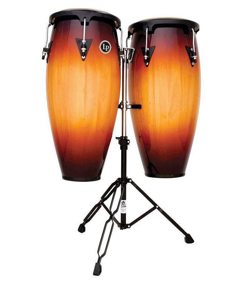 "Congas Lp City 11 y 12"" Madera Sombreada LP647NY-VSB"