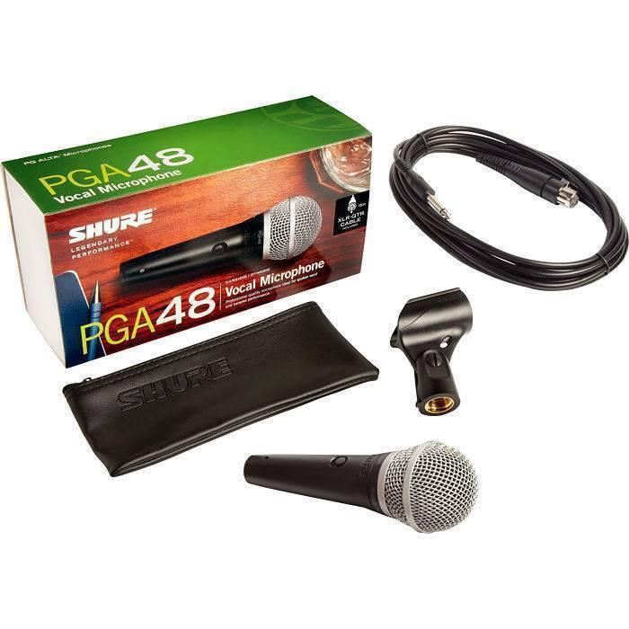 Microfono Shure de Mano PGA-48QTR