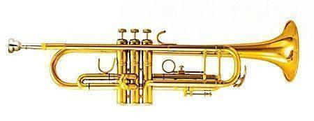 Trompeta Sib Laqueada Doble Poste 400L Silvertone