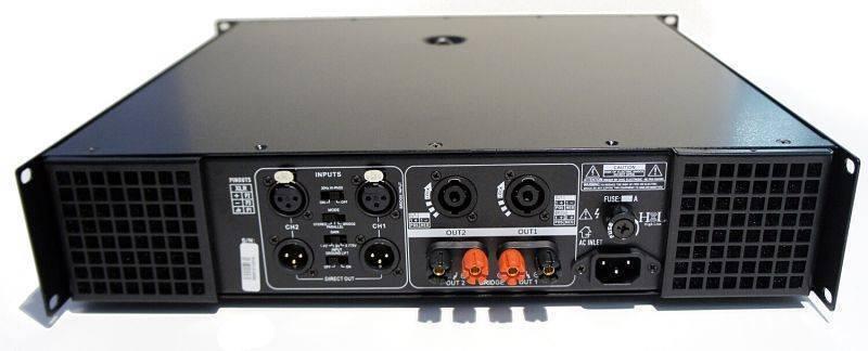 AMPLIFICADOR 2 CANALES HIGH LINE H-3800