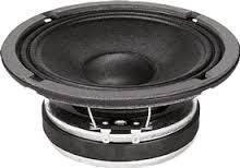 "Bocina Faital Pro de 6"" 100W 95 dB"