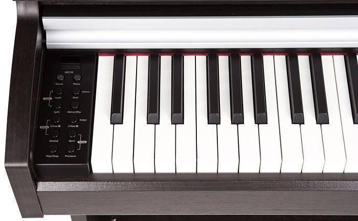 Piano Kurzweil M210 Satinado Palisandro Oscuro