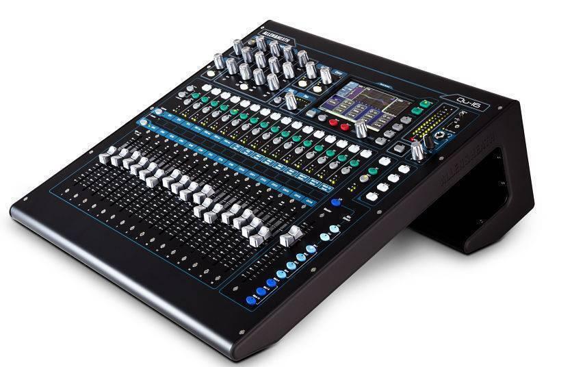Mezcladora Digital Allen & Heath QU-16 de 16 Canales