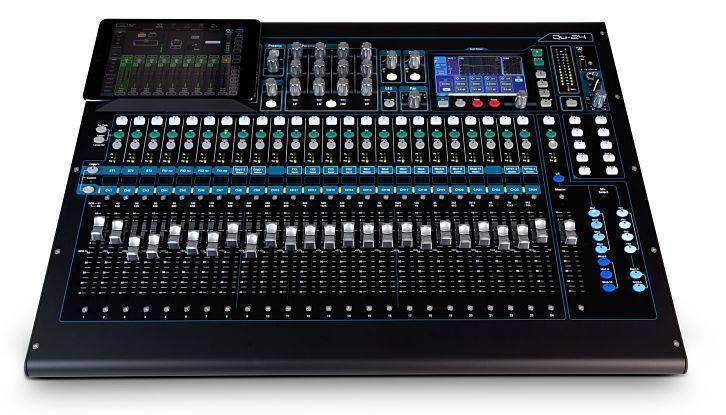 Mezcladora Digital Allen Y Heath QU-24 de 24 Canales