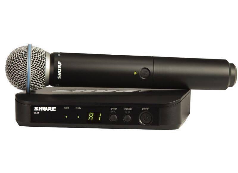 Microfono Inalambrico Shure BLX24/B58
