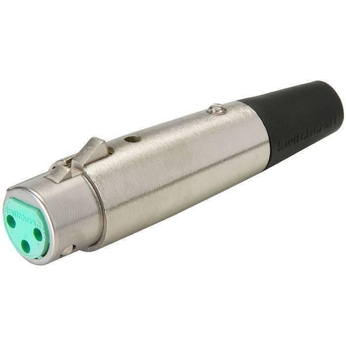 Conector XLR Switchcraft Hembra A3F